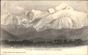 Geneve GE Le Mont Blanc Kat. Geneve