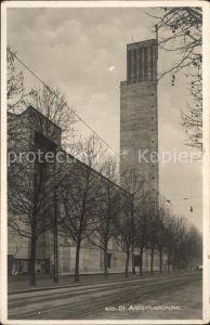 Basel BS St. Antoniuskirche Kat. Basel