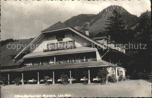 Lac Noir Schwarzsee FR Hotel Restaurant Gypsera