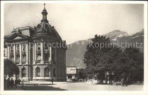 Chur GR Postplatz und Calanda Kat. Chur