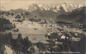 Waldegg Beatenberg Regina Palace Hotel Panorama / Beatenberg /Bz. Interlaken