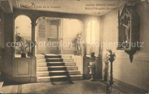 Bulle FR Entre de la Chapelle Institut Sainte Croix Kat. Bulle