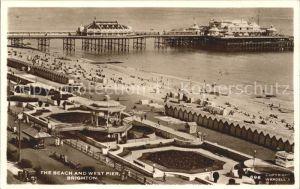 Brighton Hove Beach and West Pier / Brighton and Hove /Brighton and Hove