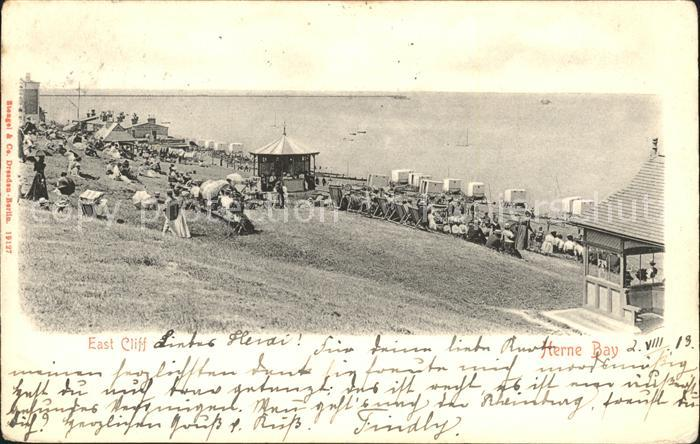 Herne Bay Panorama East Cliff Beach / City of Canterbury /