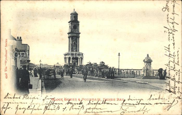 Herne Bay Clock Tower and Fountain / City of Canterbury /