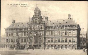 Antwerpen Anvers Stadhuis Rathaus Kat.