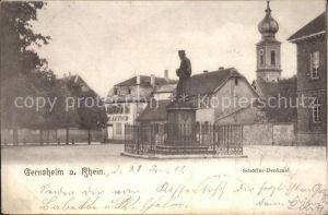 Gernsheim Schoeffer-Denkmal / Gernsheim /Gross-Gerau LKR