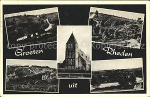 Rheden Gelderland Kirche Teilansichten