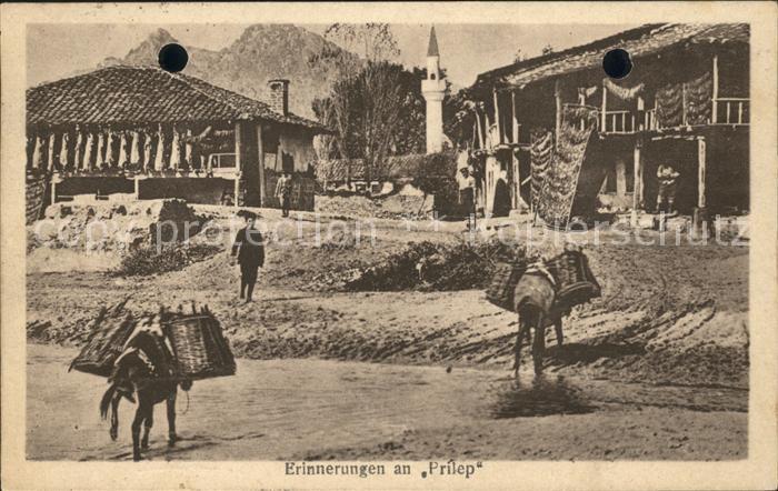 Prilep Dorfpartie Kat. Mazedonien