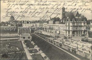 Bruxelles Bruessel Rue Royale et Jardin Botanique Kat.