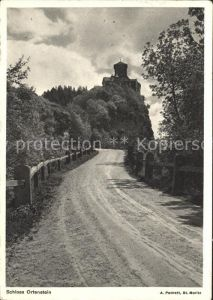 Domleschg GR Schloss Ortenstein /  /