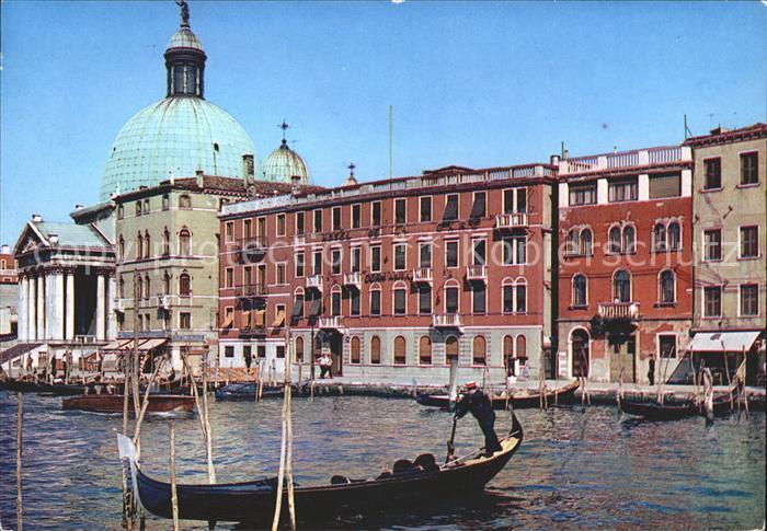 Venezia Venedig Hotel de La Gare e Germania sul Canal Grande Gondeln Kat.