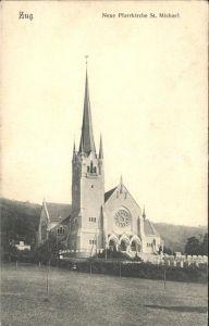 Zug ZG Neue Pfarrkirche St Michel Kat. Zug