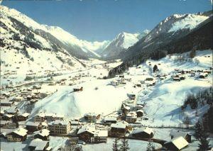Klosters GR mit Selfrange Monbiel Silvrettagletscher  Kat. Klosters