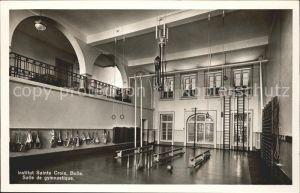 Bulle FR Institute Sainte Croix Salle de gymnastique Kat. Bulle