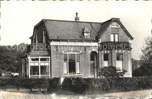 Heerde Gelderland Pastorie Geref. Kerk Kat.