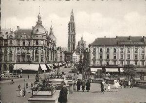 Antwerpen Anvers Suikerrui Canal au Sucre Hotel Kat.