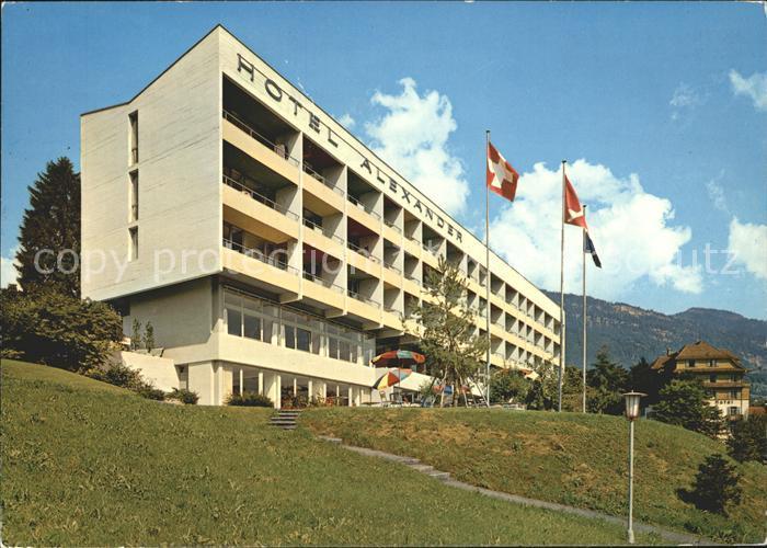 Weggis LU Hotel Alexander Kat. Weggis