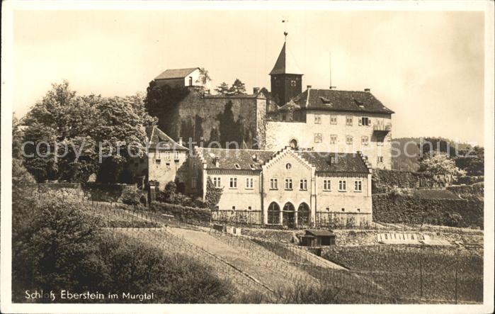 Schloss Eberstein im Murgtal Kat. Gernsbach