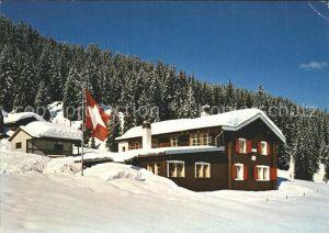 Laret Davos Ferienkolonieheim Riedhaus Kat. Davos