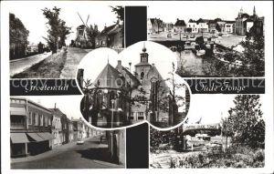Oude Tonge Teilansichten Windmuehle Kirche Camping Kat. Oude Tonge