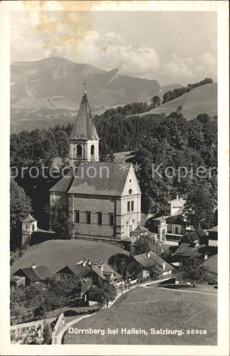 Duerrnberg Hallein Kirche Kat. Hallein