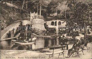 Madeira Monte Palace Hotel Lake Kat. Portugal