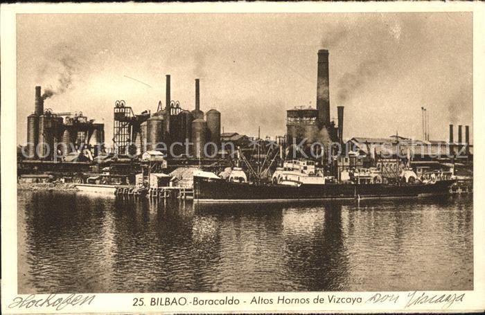 Bilbao Spanien Altos Hornos de Vizcaya Kat. Bilbao