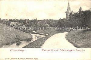 s-Gravenhage Waterpartij in de Scheveningsche Boschjes / Niederlande /Niederlande
