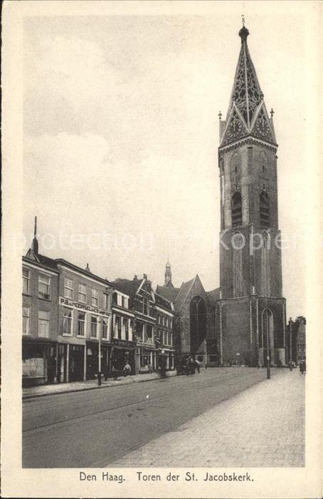 Den Haag Toren der St Jacobskerk Kat. s Gravenhage