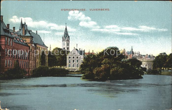 s-Gravenhage Vijverberg / Niederlande /Niederlande