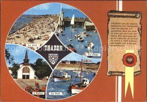 Tharon-Plage Port Plage Eglise  / Saint-Michel-Chef-Chef /Arrond. de Saint-Nazaire