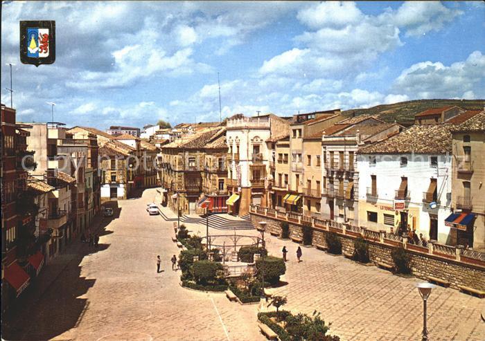 Villanueva del Arzobispo Plaza del Generalisimo