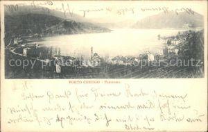 Porto Ceresio Panorama Kat. Porto Ceresio Lago di Lugano