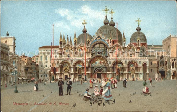 Venezia Venedig Basilica di San Marco Kat.