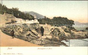 Nervi Passeggiata al Mare / Genova /Ligurien