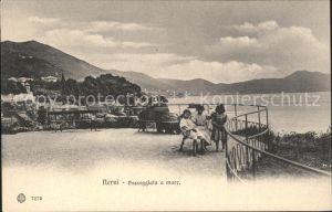 Nervi Passeggiata  a Mare Kinder / Genova /Ligurien