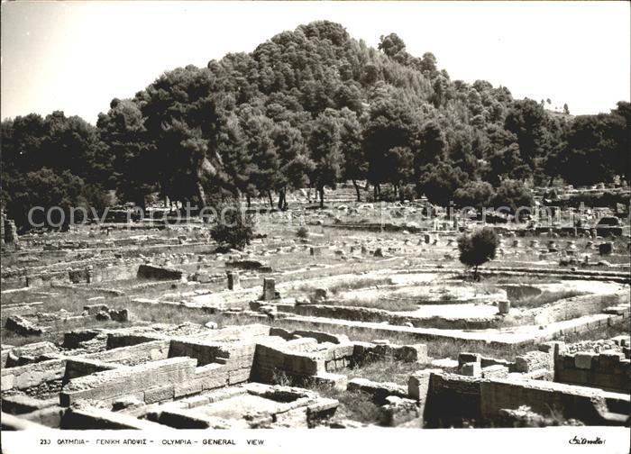 Griechenland Greece Ausgrabungen Kat. Griechenland