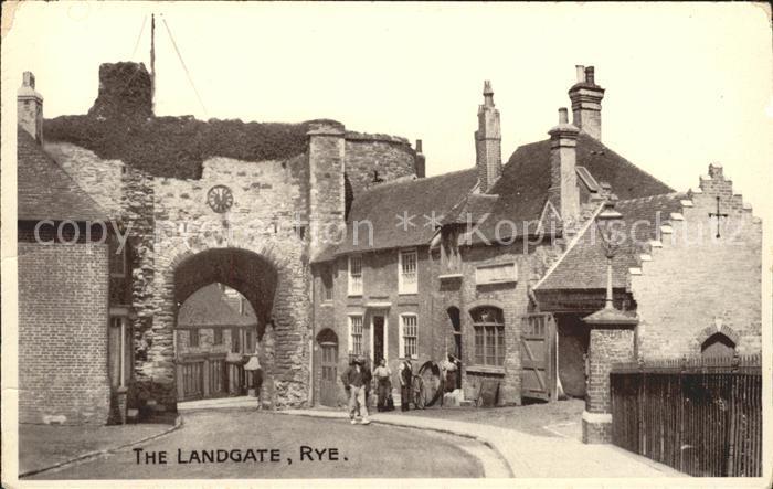 Rye East Sussex Landgate Kat. East Sussex