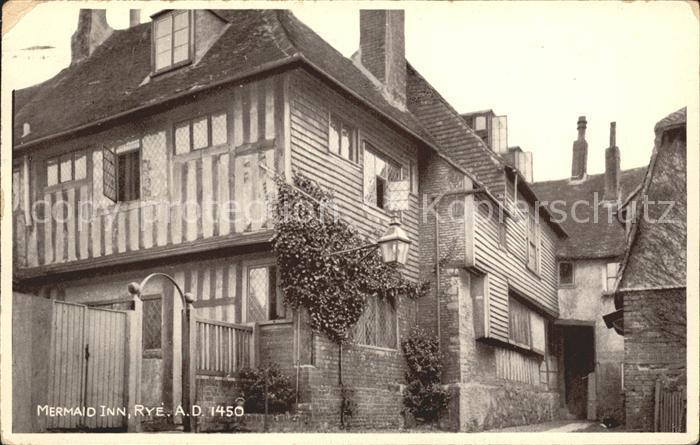 Rye East Sussex Mermaid Inn Kat. East Sussex