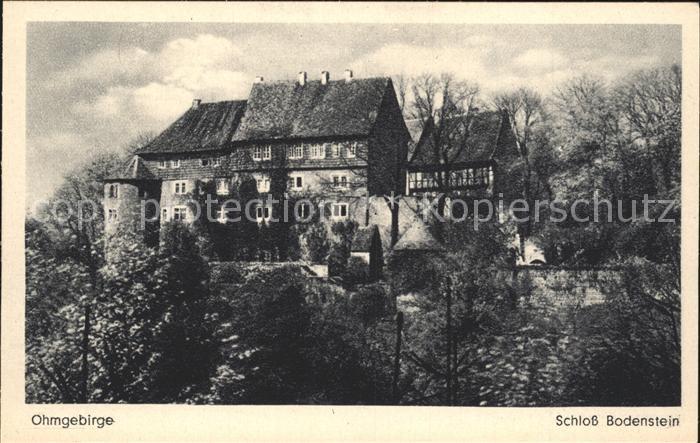 Bodenstein Kirchohmfeld Burg Bodenstein / Kirchohmfeld Leinefelde-Worbis /Eichsfeld LKR