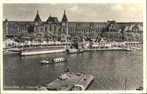 Amsterdam Niederlande Central Station Kat. Amsterdam