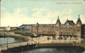 Amsterdam Niederlande Centraal Station Kat. Amsterdam