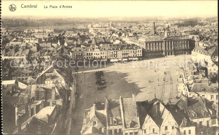 Cambrai Place d Armes Kat. Cambrai