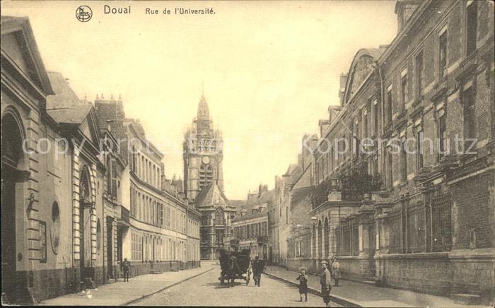 Douai Nord Rue de l Universite Kat. Douai