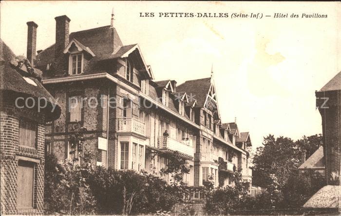 Les Petites Dalles Hotel des Pavillons Kat. Cote d Albatre