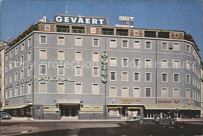Basel BS Hotel Garni Victoria National Kat. Basel