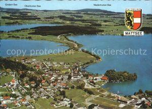 Mattsee Salzburg Graben See Obertrumer See Niedertrumer See  Kat. Mattsee