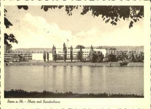 Bonn Rhein Rhein Bundeshaus / Bonn /Bonn Stadtkreis