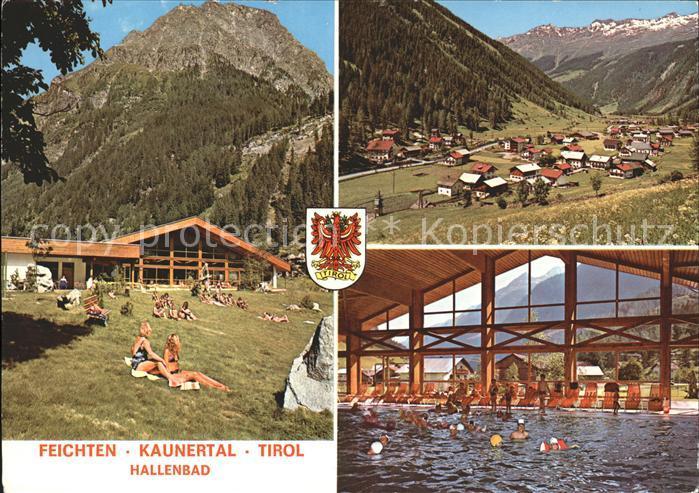 Feichten Kaunertal Hallenbad Kat. Tirol